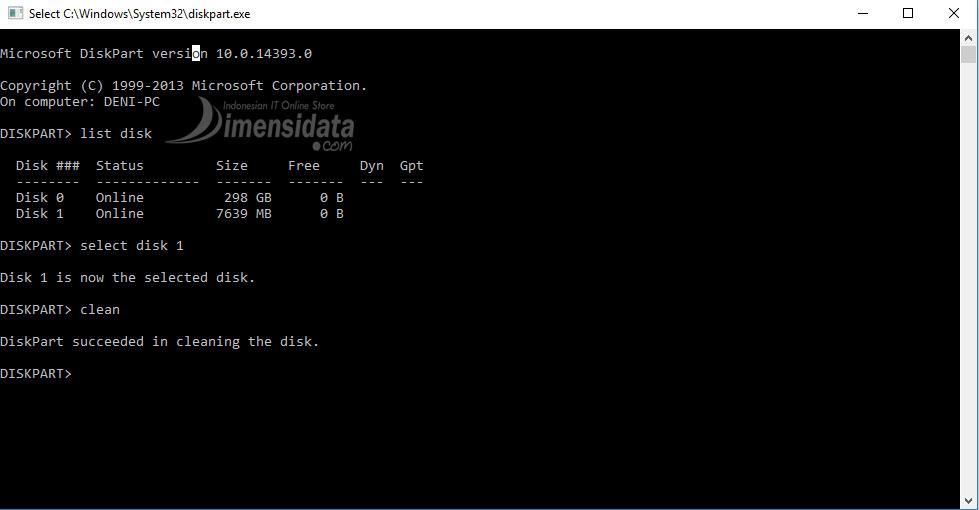 Gambar 3, Cara Membuat Bootable Flashdisk Windows 7, 8 dan 10