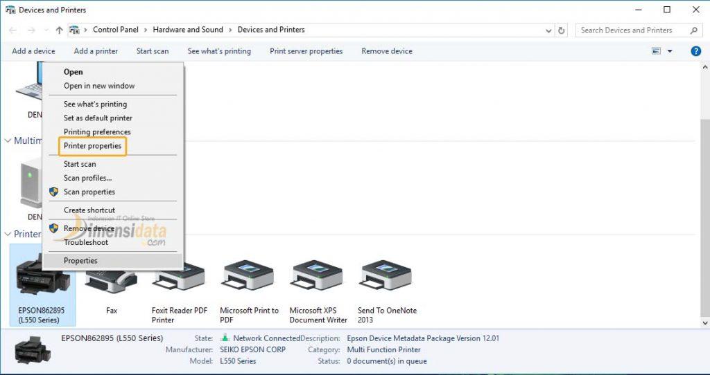 Gambar Cara Sharing Printer di Windows 10