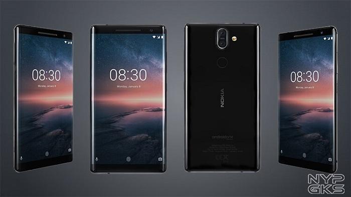 HP Dual Kamera Terbaik Nokia 8 Sirocco