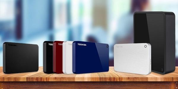 Harddisk Eksternal Terbaik dan Terlaris Merk Toshiba