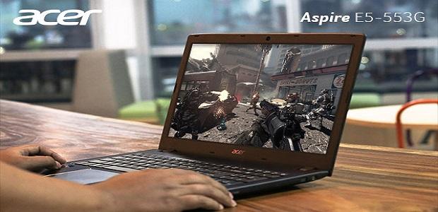 Harga Laptop Gaming Murah Acer Aspire E5-553G AMD A10 A12 FX Radeon R8