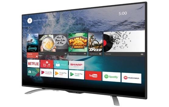 Harga SHARP Smart LED TV 50 Inch 4K UHD LC-50UE630X