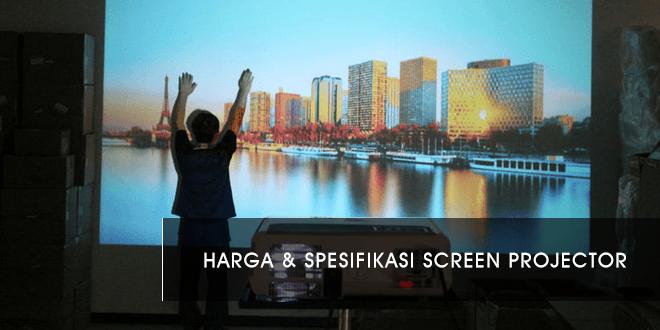 Harga Screen Projector Terbaru Tahun 2020 dan Spesifikasinya