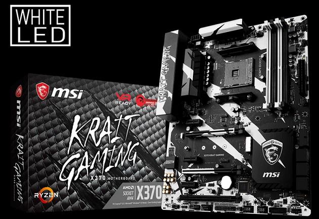 Harga Sepsifikasi Motherboard Gaming Terbaik MSI X370 Krait Gaming