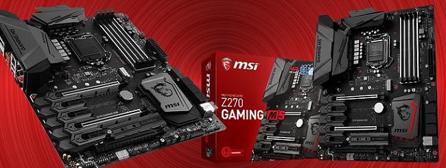 Harga Sepsifikasi Motherboard Gaming Terbaik MSI Z270 Gaming M5