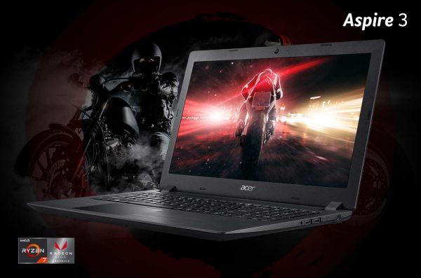 Harga dan Spesifikasi Laptop Gaming ACER Aspire 3 A315-41G AMD Ryzen 3