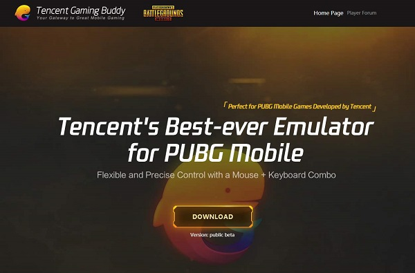 Install Emulator PUBG Mobile Tencent gaming Buddy