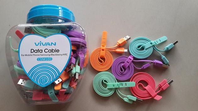 Kabel Data Charger Terbaik Merk Vivan