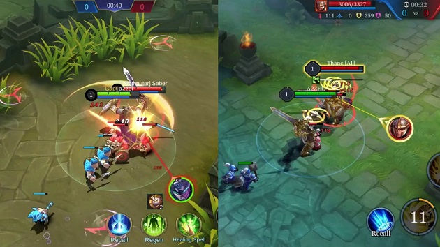 Kualitas Grafis AOV Arena of Valor vs Mobile Legend ML