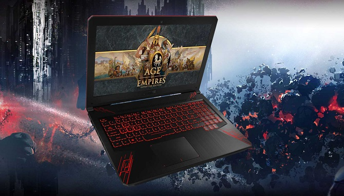 Laptop Gaming Terbaik ASUS FX504GD i7