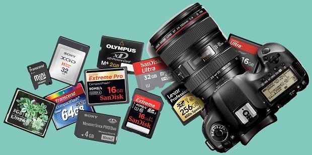 Mengenal Macam Jenis Memory Card Pada Kamera Digital DSLR