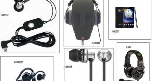 Mengenal Perbedaan Headset, Headphone, Earphone dan Handsfree