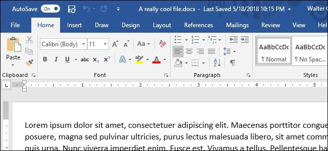 Menu Toolbar Bagian Microsoft Word dan Fungsinya