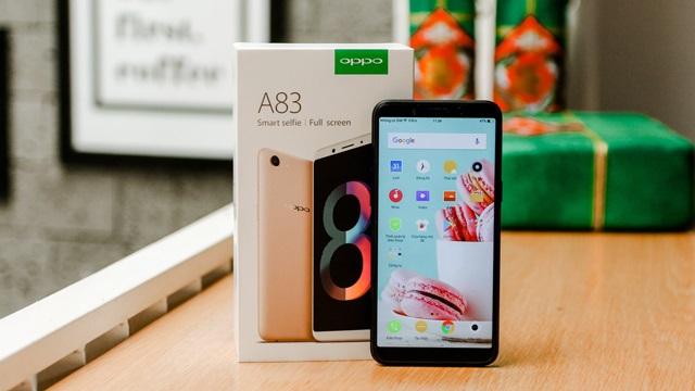 Oppo A83 - HP Gaming dan Selfie terbaik