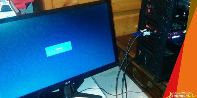 Mengatasi PC CPU Hidup Tapi Layar Monitor Mati No Signal