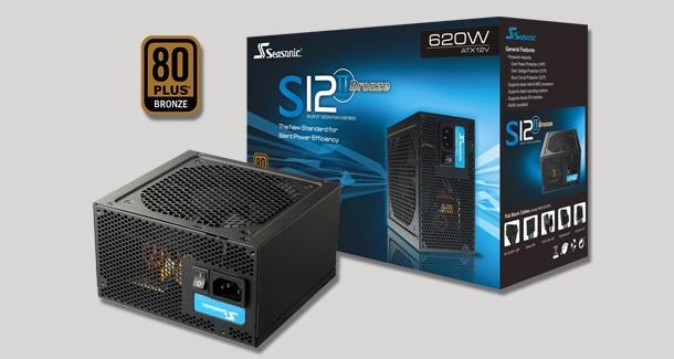 PSU Gaming 80+ Terbaik Seasonic S12II-520