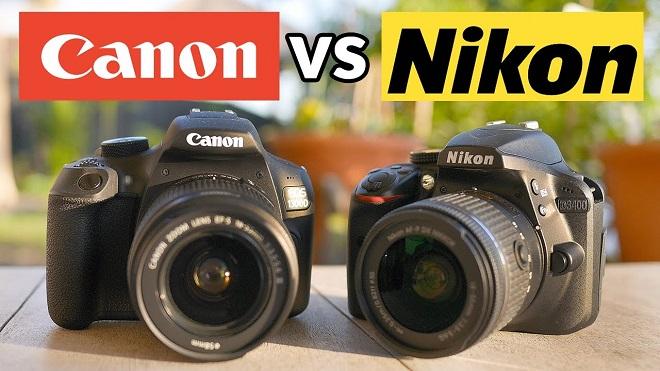 Perbandingan Kamera Canon vs Kamera Nikon, Bagus Mana?