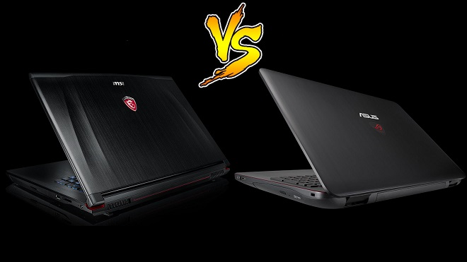 Perbandingan Laptop Gaming MSI vs Asus ROG