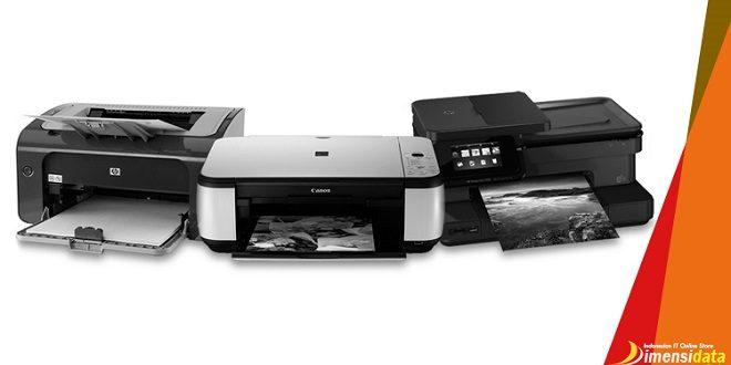 Perbedaan Printer Dot Matrix, Inkjet, dan Laserjet