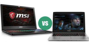 Pilih Mana, Laptop Gaming MSI atau Asus ROG