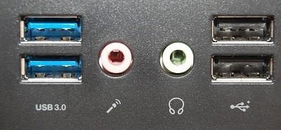 Port Konektor USB Tipe-A pada Komputer