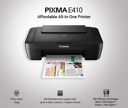 Printer Canon PIXMA E410