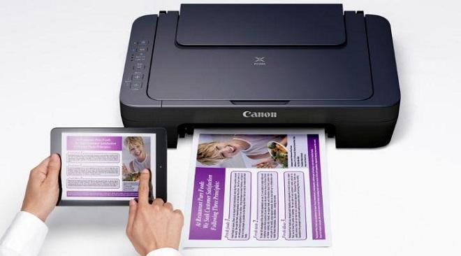 Printer Wireless WiFi Terbaik Canon Pixma E460