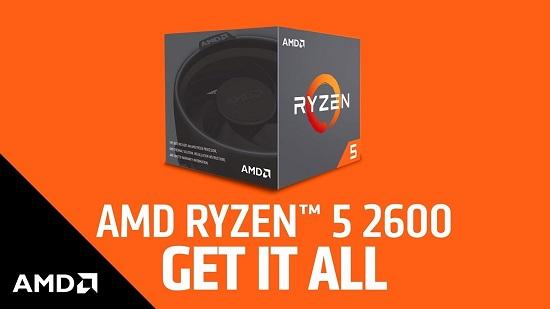 Prosesor AMD AMD Ryzen 5 2600X
