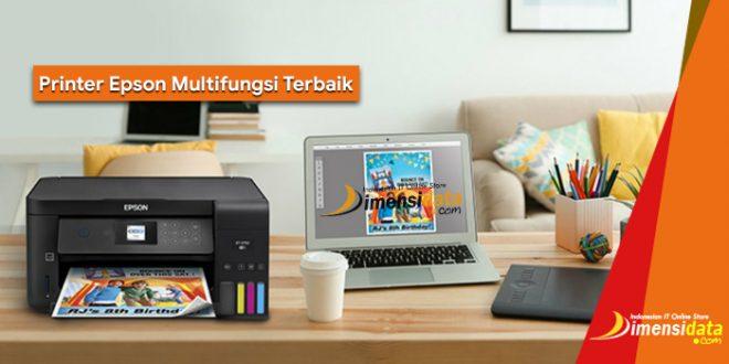 Rekomendasi Printer Epson Multifungsi Terbaik Harga Murah