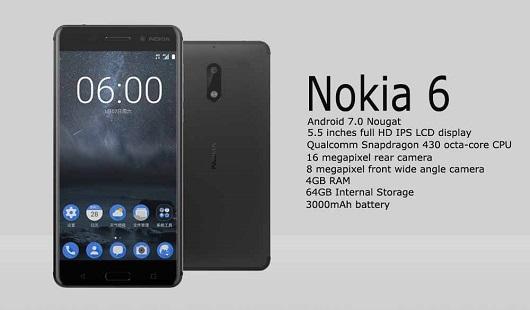 Review Kelebihan Spesifikasi Nokia 6 dan Harga Terbaru 2017