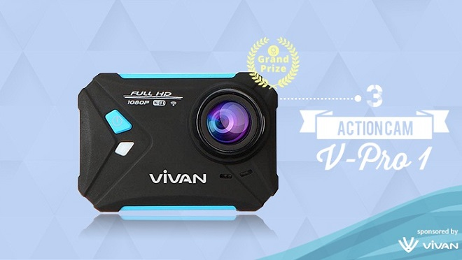 Spesifikasi Vivan V-Pro 1 Action Camera - Harga Rp 800.000