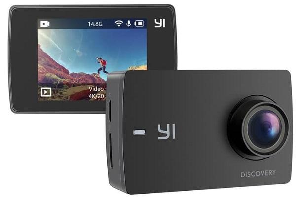 Spesifikasi XIAOMI YI DISCOVERY 4K Action Camera