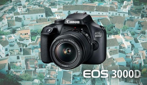 Spesifikasi dan Harga Kamera DSLR Canon EOS 3000D