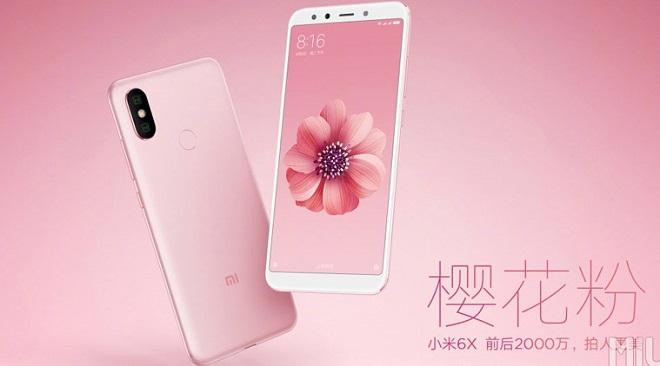 Spesifikasi dan Harga Terbaru 2018 HP Xiaomi Mi A2 6X