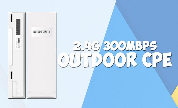 Spesifikasi dan Harga Wireless Outdoor TOTOLINK CP300 Terbaru 2017