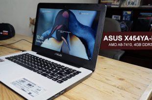 Spesifkasi ASUS X454YA-BX801D AMD A8 dan Harga Terbaru
