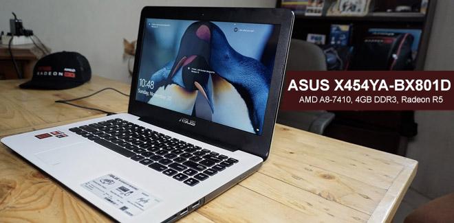 ASUS X454YA BX801D Laptop Gaming Murah Dengan AMD A8