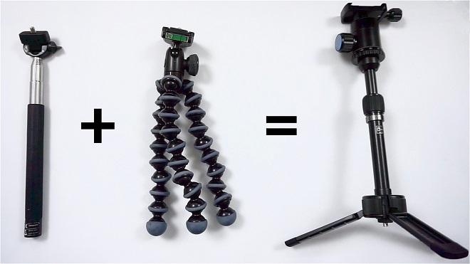 Stabilizer Kamera dan Smartphone Untuk Vloggers Youtubers
