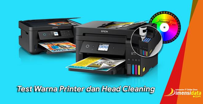 Tutorial Cara Test Printer Untuk Cek Warna Dan Head Cleaning Printer