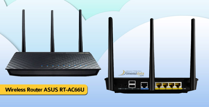 Wireless WiFi Router Terbaik ASUS RT-AC66U