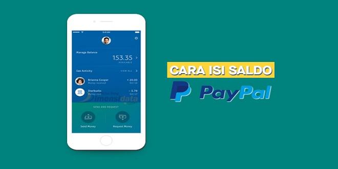 3 Cara Mudah Isi Saldo PayPal