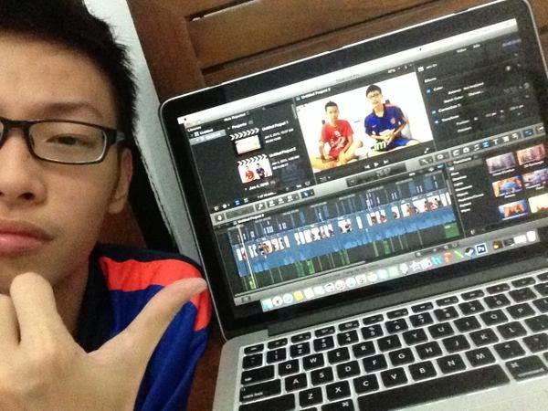 cara edit video vlog di hp