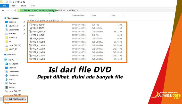 isi DVD