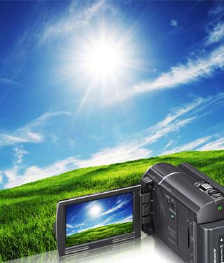 SONY HDR-PJ600VE Camcorder dengan 20.4 Megapixels
