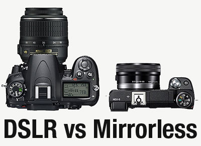 Pilih mana? Kamera Mirrorless vs Kamera Mirror