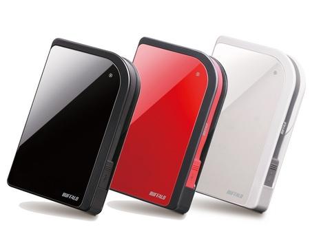 Produk External Hard Disk Buffalo: Design unik dengan Variasi Warna Menarik