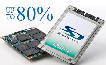 SSD Dapat Menambah Kinerja Notebook Sampai Dengan 80%